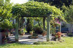40 ideas para la construcción de su pérgola y convertir su jardín ...