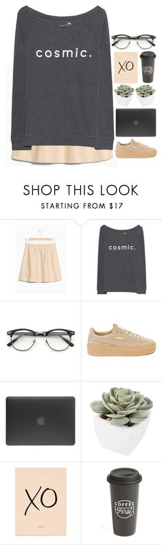 """""""-"""" by emilypondng ❤ liked on Polyvore featuring Juvia, Puma, Incase, Abigail Ahern and The Created Co."""