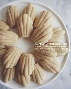 Gluten-Free Vegan Almond Madeleines