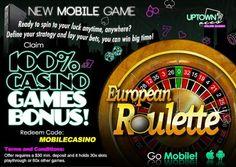 Uptown Aces Mobile Casino | Roulette Match Bonus