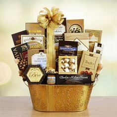 Shining Star Gourmet Gift Basket.  See more at www.pro-gift-baskets.com!