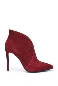 Burgundy Tulip Boot by Lola Cruz