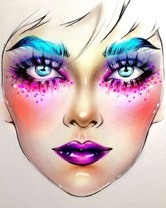 "4,116 Me gusta, 29 comentarios - Sergey X (@milk1422) en Instagram: ""#artist@milk1412  ✨ #mylove #myart #myartistcommunity #myartistcommunityrussia #makeup #makeupart…"""