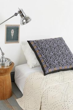 Magical Thinking Studded Floral Pillow. #urbanoutfitters