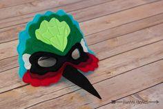 Amanda-Kate el traje de máscara de Colibrí para juegos de