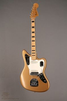Boutros Boutros GOLLY!!!!! Just when you think you've seen everything. 1969 Fender Jaguar at Gryphon Stringed Instruments. WANT.
