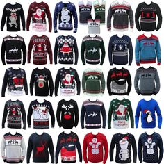 Christmas Xmas Jumper Funny Rude Mens Ladies Novelty Knitted Sweater