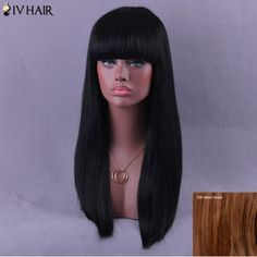 GET $50 NOW | Join RoseGal: Get YOUR $50 NOW!http://www.rosegal.com/human-hair-wigs/long-neat-bang-natural-straight-950071.html?seid=6475716rg950071