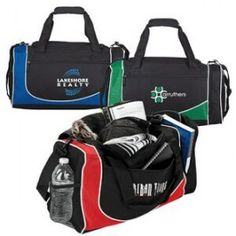 Mesh Duffel Bag w/ Multiple Pockets