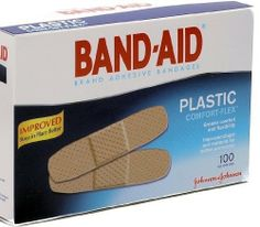 """Band-Aid Plastic Adhesive Bandages, All One Size 1"""" X 3"""", 100 Count (Pack of 2) by Band-Aid. $14.48. Power to heal. Long lasting adhesive for for continuous protection and non-adherent pad for effective wound care.. Non-stick, air-vented pad promotes faster healing. Individually sterile packed 100 per box. 1 inch x 3 inch plastic strips.. Band Aid Plastic Adhesive Bandages 3/4 Inches X 3 Inches offer sterile, long lasting adhesive for for continuous protection and non-adherent pa..."""