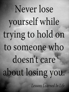 Live by this. I made this mistake of trying to get our broken family back together. I wasted so much of y tie when y husband said they simply don't give a damn about us. They only care about themselves