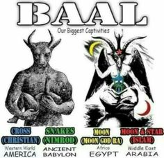 Baal means lord.... wake up Israel
