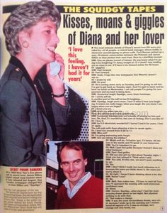 Our Princess Diana Article Today Is 'Secret Phone Rangers' The Squidgy Tapes
