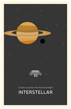 On the Creative Market Blog - 30 Out of This World Fan-Made Interstellar Posters