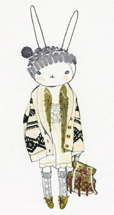 Fifi Lapin wears Top Shop