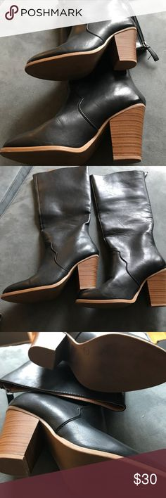 Long boots Just Fab boots, man made just Fab Shoes Over the Knee Boots