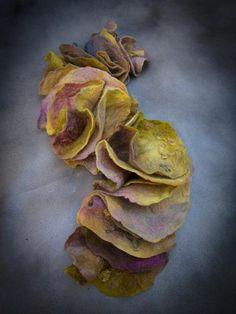 Merino wool felt Boa  Pastel by Studio Svenja