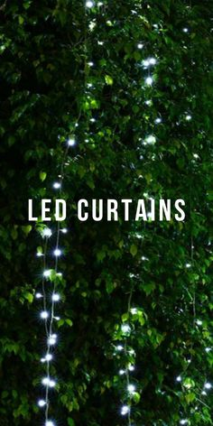led wedding curtains | LED curtains bedroom | LED Curtains | LED curtains for decoration | #LED curtains | #curtains | #garlands | #cozyatmosphere Garlands, Curtains, Led, Bedroom, Decoration, Wedding, Wreaths, Decorating, Mariage