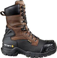"Carhartt Men's 10"" PAC Waterproof 400g Composite Toe Work Boot - Brown   DICK'S Sporting Goods"