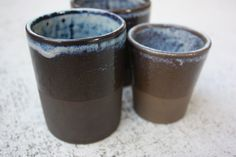 Brown and Black Stoneware