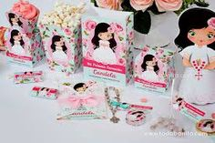 Resultado de imagen de kit imprimibles de primera comunion Diy Paper, Minnie Mouse, Disney Characters, Party, Weeding, Scrap, Eucharist, Flamingo Birthday, Fashion For Girls