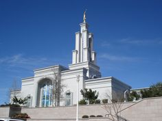 San Antonio LDS temple - This is where I got sealed to my wonderful husband! :)