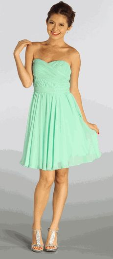Mint Bridesmaids Dress #Mintdress #BridesmaidsDresses #CocktailDress