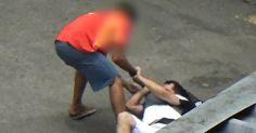 Empresário flagra assaltos no Centro do Rio; veja imagens