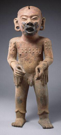Figure of Xipe Totec ca. A.D. 36000pm Late Classic, Classic Veracruz