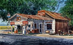 Stan Routh Art Louisiana Landmarks
