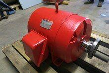 Rebuilt Reliance Electric 25hp 1765rpm 230 460v 284ts Ac Motor Duty Master Pump Pm3051 1 Electricity Rebuild Motor
