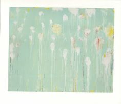 Cy Twombly print.
