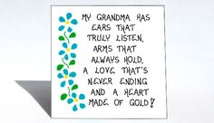 Grandma Magnet  Grandmother quote loving by TheMagnificentMagnet, $3.95