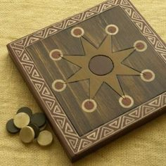 Great Wedding Gifts Nz : . Mu Torere is a fast two player board game popular among New Zealand ...