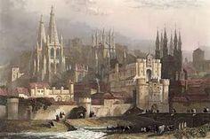 Burgos Cathedral by David Roberts (1796 – 1864)