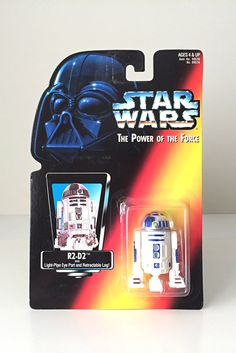 Vintage Star Wars Action Figure R2-D2 - Robot Toy / Star Wars Droid from the Original Movie Trilogy