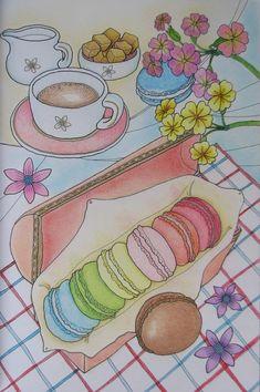 Napsütötte Franciaország_Soleil France_adult coloring book_Lee Il-Sun