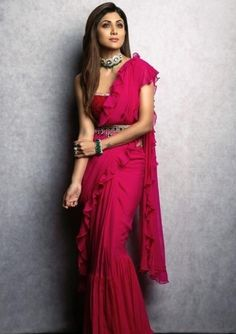 From styles guides to fashion tips to the trends, saree will never go out of trend. From chic crepes to soft silks, from vibrant colours to warm shades, we have curated some hottest designs for the wedding season. Indian Wedding Outfits, Bridal Outfits, Indian Outfits, Drape Sarees, Lehenga Collection, Party Wear Sarees, Beautiful Saree, Bridal Lehenga, Indian Dresses