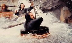 The Epic, the Awesome, and the Random: 17 Thoughts And Reactions To The Hobbit: The Desolation Of Smaug.  In which I discuss the latest installment in The Hobbit trilogy.  Also Smauglock, Party Thranduil, and the Dwarves In Barrels water ride I so desperately want.