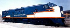 https://flic.kr/p/73AHGe   Baldwin #2001,0-6-6-0 1000/2 DE 2,000 horsepower unit   Powered by two 1,000 horsepower naturally aspirated engines that worked OK at sea-level but poorly in the  mountains due to the thin air and loss of power.