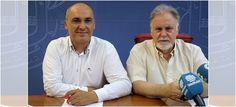 MOTRIL.El concejal de Servicios Sociales, Gregorio Morales, junto al presidente de Cruz Roja en Motril, Manuel Gutiérrez, ha presentado una serie de talleres para facilitar actividades