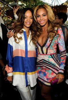 Two of my biggest inspirations - Rihanna and Beyonce. Both who are not just bones and skin, yet are either curvy or toned.