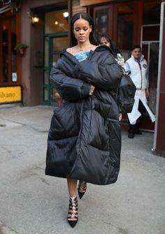 Rihanna Was Spied leaving da Silvano Resaurant in Nyc