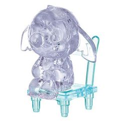 "[3D PUZZLE] HANAYAMA 13 pcs CRYSTAL puzzles ""Baby Stitch"" HY056823"