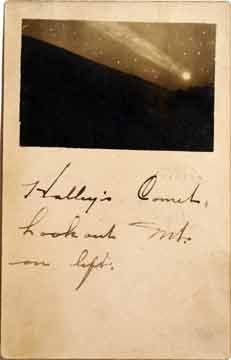 The comet over Lookout Mountain (1910)