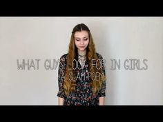 What Guys Look For In Girls - A Slam Poem, this is one of the most inspiring things I have ever watched!!!