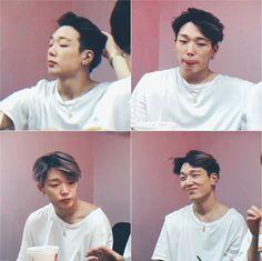 in chanwoo life🌹 Bobby, Blonde Bangs, Blonde Hair, Ikon Member, Ikon Kpop, Jay Song, Ikon Debut, Kim Ji Won, Kim Hanbin