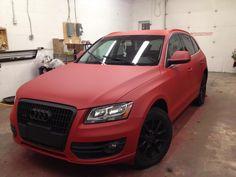 Audi Red Dip 2...platidip your car...soo cool