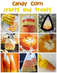 Candy Corn Crafts & Recipes - Fun Family Crafts