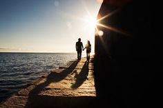 #engagement #photography at The Breakwater